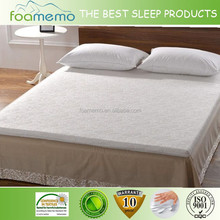 Terry fabric Visco Foam pad for hotel home bedroom used