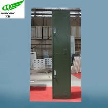 China cheap knock down school green steel locker