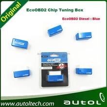 2pcs/lot newest ecoobd2 plug and EcoOBD2 Chip Tuning Box Interface for benzine car 15% fuel save EcoOBD2 Benzine free shipping
