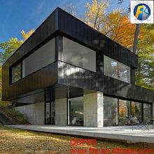 New cheap modern prefabricated light steel structure villa Q235/Q345 2015