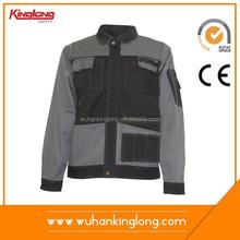 Designer Workwear Clothing Manufacturer in China Long Sleeve Mens Wear Jacket