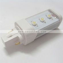 G24/E27/E14 3W Led pl light with frost or clean cover