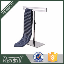Hot sale durable department and supermarket metal tie and scarf display stand with ecellent design