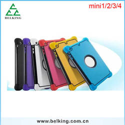 For ipad Mini 4 Foldable Case Drop Resistance Stand Holder Case For iPad Mini 4