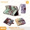 BRG Elegant Flower Pattern Mobile Phone Case Card Holder Wallet For iPhone 6