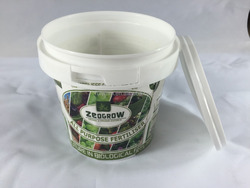 500ml new style plastic bucket for food