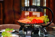 Restaurant Table Top Electric Grill BBQ/Electric BBQ Charcoal Grill/Electric Infrared Grill HJ-BBQ001