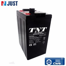 Good 2v 600ah rechargeable deep cycle gel storage battery for solar