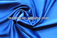 100% Polyester Woven Colorful Satin For Garment Lining