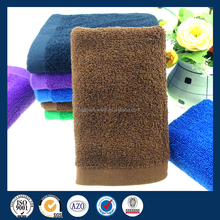 2015 new design face hand towel terry