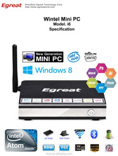 Hot selling new generation Intel mini pc Quad Core 1.33GHz CPU 2G RAM 32G Storage smart Wintel W8 Mini pc
