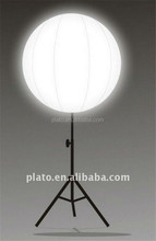Inflatable halogen lighting/led lighting balloon with stand pole for sale