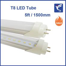 Eco energy LED T8 retrofit tubes 1500mm, CE RoHS ETL FCC listed