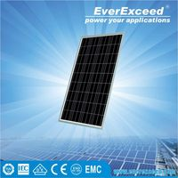 EverExceed 205W Polycrystalline Solar Panel made of Grade A solar cell for grid-on/off solar system