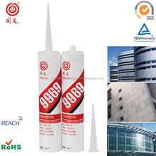 HT9969 silicone glue for stainless steel construction for glass