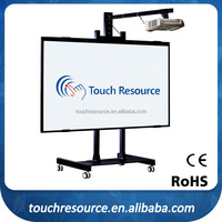 Multi touch electric whiteboard for smart classroom