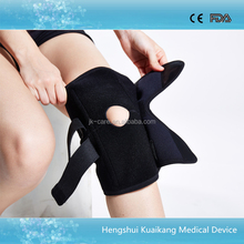 High quality adjustable knee support brace elastic knee compression sleeves for sports