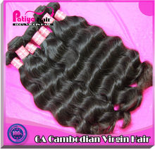 Full and thick ends 100% arjuni Cambodian hair natural color