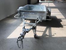 Hot sales ! Hot galvanised box trailer cage trailer1880x1580mm