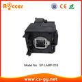 Nuevos productos calientes en el mercado de china de la lámpara del proyector sp- de la lámpara- 018 para infocus proyector lpx2/lpx3/x2/x3 c130