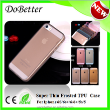 Transparent Ultra Thin Frosted Back Cover For Iphone 6S Plus Case, Cheap Cell Phone Cases For Iphone 6S 6S Plus