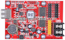 BX-5UT Free shipping Middle Serial Port RS232 LED Display Control Card For Single /Dual Color