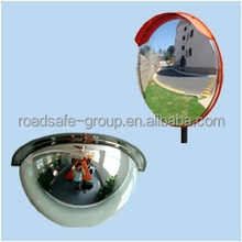 secure ,reliable easy to be installed convex rear view mirror
