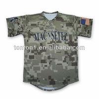 2014 cheap custom sublimation camo baseball jerseys Wholesale