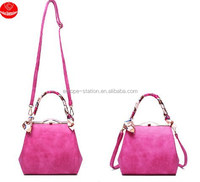 2015 new Korean style handbag / fashion lady lock K bag/diagonal package bags