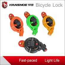 Wholesale colorful bicycle lock bicycle accessories wholesale guangzhou