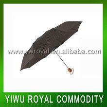 Large Aluminum 3 Fold Umbrella