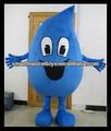 buena visual de alta calidad de agua de la felpa adultos traje de gota de agua traje de la mascota