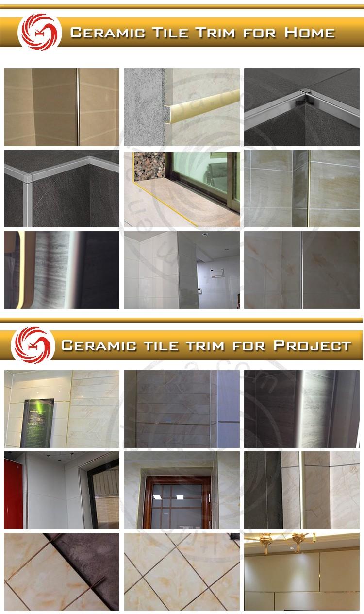 Ceramic tile quadrant