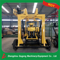 QG-130YY multi-functional drilling rig for water well, core sampling, Soil testing