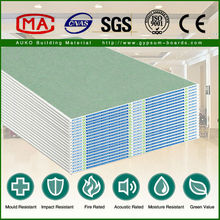 Many patterns Moistureproof Drywall / Gypsum Board for Partition Wall
