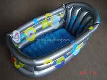 colorful printed plastic PVC inflatable baby spa pool