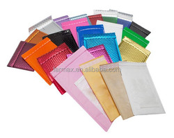 2015 Farmax Matt Metallic Bubble Envelopes with self seal