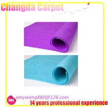 polyester exhibition on carpet