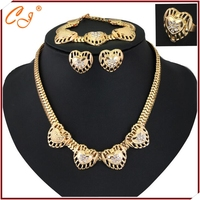 The fashion sets of chain High-grade hollow out serial hearts 4 times dress accessories wholesale manufacturers selling