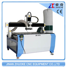 DSP Control CNC Router for Aluminum Composite Panel Machine 3.2kw With Dust Collector 1.2*1.2m 4*4 Feet ZK-1212