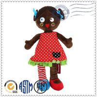 Custom production super cute smiling toy baby dolls