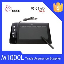Ugee tablet M1000L 10x6 inch keyboard smart pad