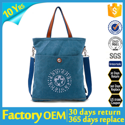 Folding Waterproof Tote bag , cross body Tote bag , Multifunction Tote bag