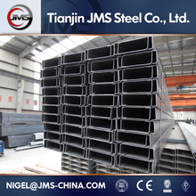 Structural Steel Profiles Hot Rolled Carbon Steel U Channel Bar(Q235Ss400Astm A36St37S235jrS355jr )