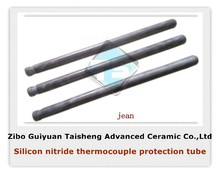 Silicon nitride ceramic heater protection tube,the best refractory,wear-resistance and corrosion resistance ceramic materials