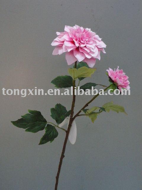 Flor artificial dália