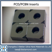 china factory different shapes pcd insert & cbn insert diamond tools