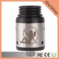 The best health care product in stock Succubus Style RDA Rebuildable Dripping Atomizer 1:1 clone Succubus with high quality