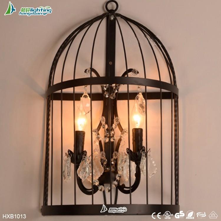 Retro lámparas balcón lámpara de pared creativa barra de carácter ...