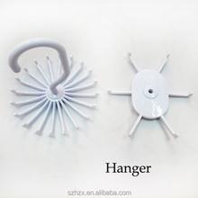 plastic peg/plastic clothes peg with hook/kids clothes hangers wholesale